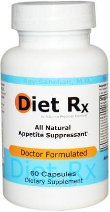 Diet Rx, 60 Capsules by Advance Physician Formulas, 補充劑,5-htp,健康,飲食 HK 香港