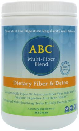 ABC, Multi-Fiber Blend, 352 g by Aerobic Life, 健康,排毒,結腸清洗 HK 香港