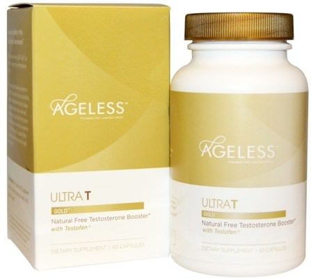 UltraT Gold, 60 Capsules by Ageless Foundation Laboratories, 健康,男人,睾丸激素 HK 香港