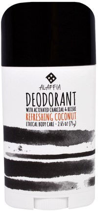 Deodorant, Refreshing Coconut, 2.65 oz (75 g) by Alaffia, 洗澡,美容,身體護理,除臭劑 HK 香港