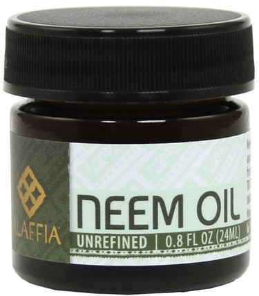 Neem Oil, Unrefined, 0.8 fl oz (24 ml) by Alaffia, 洗澡,美容,油,面部護理 HK 香港