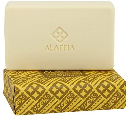 Triple Milled Shea Butter Soap, Pineapple Coconut, 5 oz (142 g) by Alaffia, 洗澡,美容,肥皂,身體護理 HK 香港