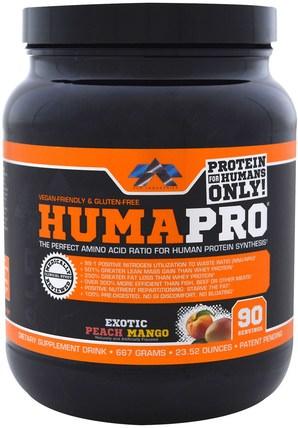 ALR Industries, Humapro, Exotic Peach Mango, 23.52 oz (667 g) 運動,補品,乳清蛋白