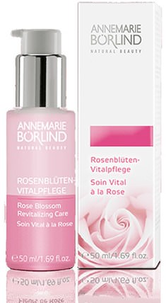 Natural Beauty, Revitalizing Care, Rose Blossom, 1.69 fl oz (50 ml) by AnneMarie Borlind, 美容,面部調色劑,面部護理,皮膚 HK 香港