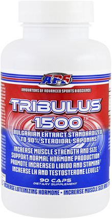 Tribulus 1500, 90 Capsules by APS, 運動,tri藜,男人 HK 香港
