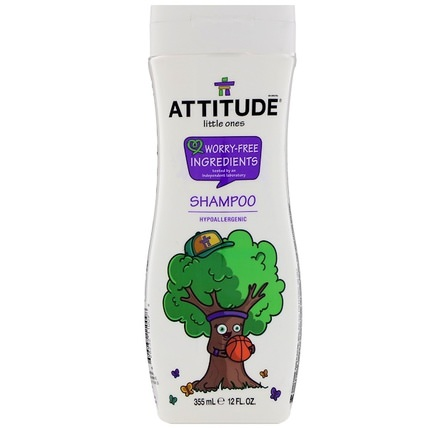 Little Ones, 2-in-1 Shampoo and Conditioner, 12 fl oz (355 ml) by ATTITUDE, 洗澡,美容,身體護理,洗髮水,兒童洗髮水 HK 香港