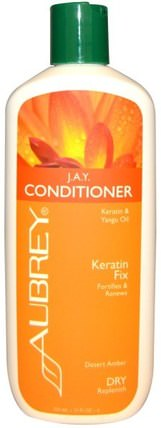 J.A.Y. Conditioner, Dry Hair, Citrus Clove, 11 fl oz (325 ml) by Aubrey Organics, 洗澡,美容,護髮素,頭髮,頭皮,洗髮水,護髮素 HK 香港