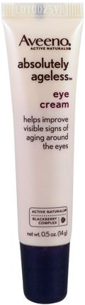 Absolutely Ageless, Eye Cream.5 oz ( 14 g) by Aveeno, 美容,眼霜 HK 香港