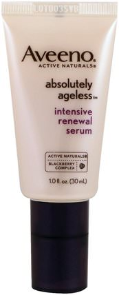 Absolutely Ageless, Intensive Renewal Serum, 1 fl oz (30 ml) by Aveeno, 美容,面部護理 HK 香港
