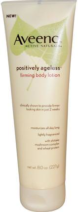 Active Naturals, Positively Ageless, Firming Body Lotion, 8.0 oz (227 g) by Aveeno, 身體,積極的永恆 HK 香港