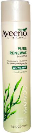 Active Naturals, Pure Renewal Shampoo, 10.5 fl oz (311 ml) by Aveeno, 洗澡,美容,頭髮,頭皮,洗髮水,護髮素 HK 香港