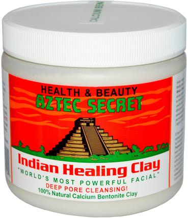 Indian Healing Clay, 1 lb (454 g) by Aztec Secret, 健康 HK 香港