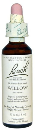 Original Flower Remedies, Willow, 0.7 fl oz (20 ml) by Bach, 補品,順勢療法,健康 HK 香港