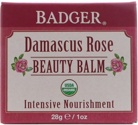Beauty Balm, Damascus Rose, 1 oz (28 g) by Badger Company, 健康,皮膚 HK 香港