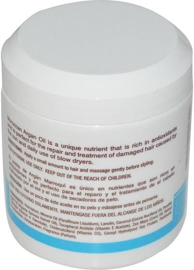 洗澡,美容,護髮素,摩洛哥堅果 - Cococare, Moroccan Argan Oil, Hair Conditioner, 5 oz (148 g)
