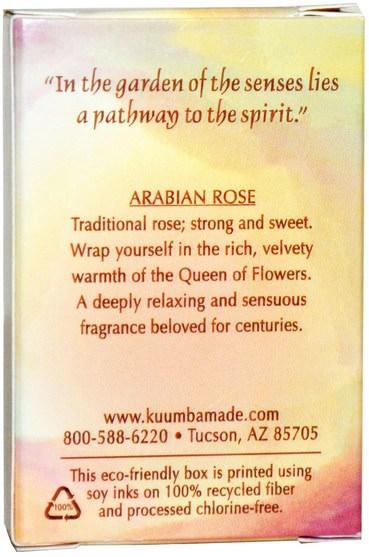 洗澡,美容,香水噴霧 - Kuumba Made, Fragrance Oil, Arabian Rose, 0.5 oz (14.7 ml)
