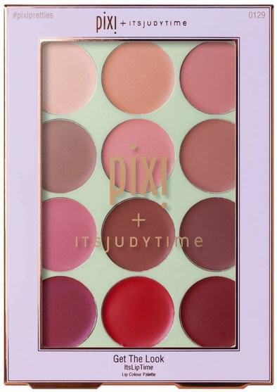 洗澡,美容,口紅,光澤,襯墊 - Pixi Beauty, Get the Look, ItsLipTime, 12 x 0.03 oz (0.76 g)