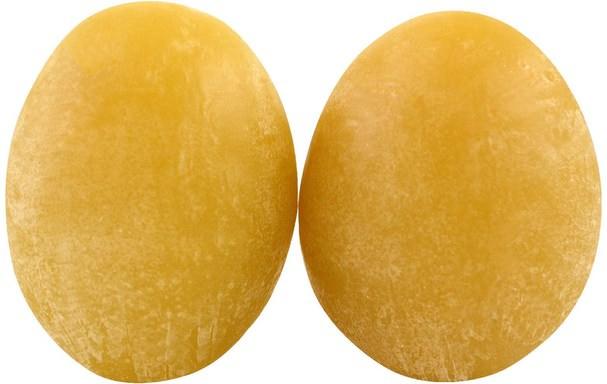 洗澡,美容,肥皂 - Holika Holika, Green Tea Egg Soap, 2 Pieces