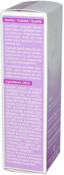美容,面部護理,面霜,乳液,健康,皮膚,晚霜 - Weleda, Hydrating Night Cream, Iris, 1.0 fl oz (30 ml)