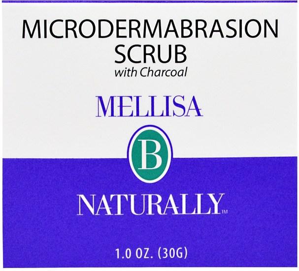 美容,面部護理,洗面奶 - Mellisa B. Naturally, Microdermabrasion Scrub, 1.0 oz (30 g)