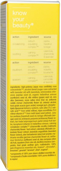 美容,面部護理,皮膚類型組合到油性皮膚,水楊酸 - Suki Care, Balancing Day Lotion, 1.0 fl oz (30 ml)