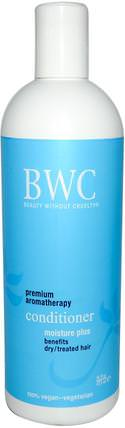 Conditioner, Moisture Plus, 16 fl oz (473 ml) by Beauty Without Cruelty, 洗澡,美容,頭髮,頭皮,洗髮水,護髮素 HK 香港