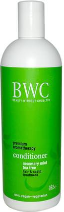 Conditioner, Rosemary Mint Tea Tree, 16 fl oz (473 ml) by Beauty Without Cruelty, 洗澡,美容,頭髮,頭皮,洗髮水,護髮素 HK 香港