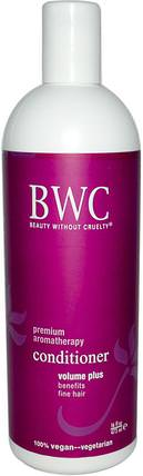 Conditioner, Volume Plus, 16 fl oz (473 ml) by Beauty Without Cruelty, 洗澡,美容,頭髮,頭皮,洗髮水,護髮素 HK 香港