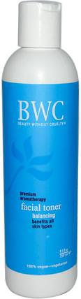 Facial Toner, Balancing, 8.5 fl oz (250 ml) by Beauty Without Cruelty, 美容,面部護理,皮膚 HK 香港