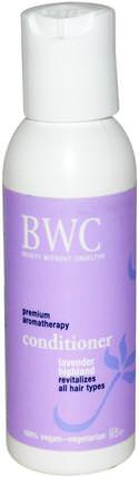 Conditioner, Lavender Highland, 2 fl oz (59 ml) by Beauty Without Cruelty, 洗澡,美容,頭髮,頭皮,洗髮水,護髮素,護髮素 HK 香港