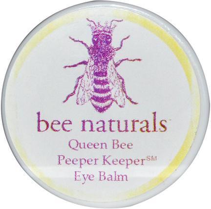 Bee Naturals, Queen Bee, Peeper Keeper Eye Balm, 0.6 oz 美容,眼霜,蜂王集合