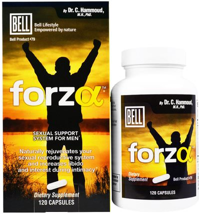 Forza, Sexual Support System for Men, 120 Capsules by Bell Lifestyle, 健康,男人,鐘生活方式男人 HK 香港