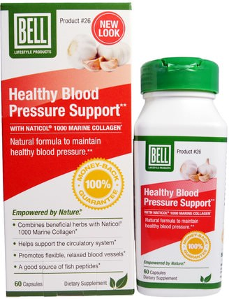Healthy Blood Pressure Support, 60 Capsules by Bell Lifestyle, 鐘生活條件特定,鐘生活方式婦女 HK 香港