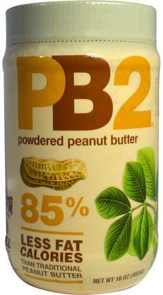 PB2, Powdered Peanut Butter, 16 oz (453.6 g) by Bell Plantation, 食品,花生醬,鐘形種植園pb2粉狀花生醬 HK 香港