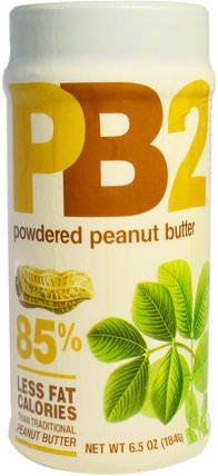 PB2, Powdered Peanut Butter, 6.5 oz (184 g) by Bell Plantation, 食品,花生醬,鐘形種植園pb2粉狀花生醬 HK 香港
