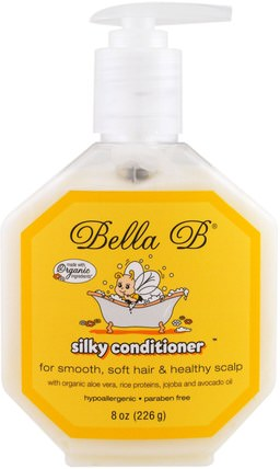 Silky Conditioner, 8 oz (226 g) by Bella B, 洗澡,美容,護髮素,兒童洗澡 HK 香港