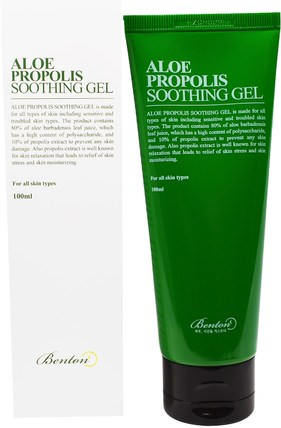 Aloe Propolis Soothing Gel, 100 ml by Benton, 健康,皮膚,沐浴,美容 HK 香港