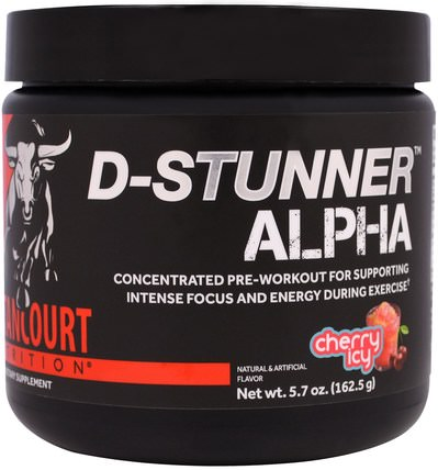 D-Stunner Alpha, Cherry Icy, 5.7 oz (162.5 g) by Betancourt, 運動,鍛煉,肌肉 HK 香港