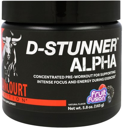 D-Stunner Alpha, Fruit Passion, 5.8 oz (165 g) by Betancourt, 運動,鍛煉,肌肉 HK 香港