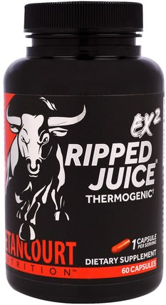 EX2 Ripped Juice, 60 Capsules by Betancourt, 減肥,飲食,脂肪燃燒,減肥 HK 香港