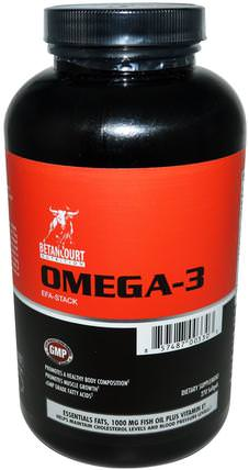 Omega-3 EFA-Stack, 270 Softgels by Betancourt, 補充劑,efa歐米茄3 6 9(epa dha),歐米茄369粒/標籤 HK 香港
