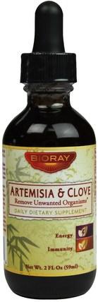 2 fl oz (59 ml) by Bioray Artemisia & Clove, 草藥,青蒿,丁香 HK 香港