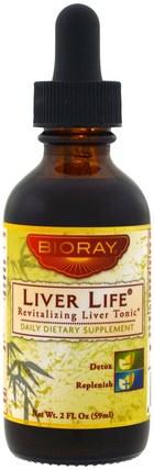Revitalizing Liver Tonic, 2 fl oz (59 ml) by Bioray Liver Life, 補品,肝臟產品,健康,肝臟支持 HK 香港