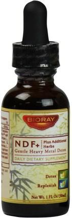 1 fl oz (30 ml) by Bioray NDF Plus (Gentle-Organic-Detox), 健康,排毒 HK 香港