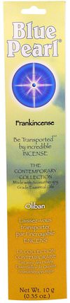 The Contemporary Collection, Frankincense, 0.35 oz (10 g) by Blue Pearl, 健康 HK 香港