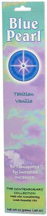 The Contemporary Collection, Tahitian Vanilla Incense.35 oz (10 g) by Blue Pearl, 洗澡,美容,香薰精油,香 HK 香港