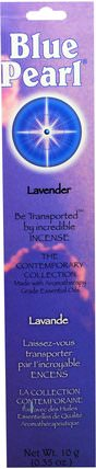 The Contemporary Collection, Lavender Incense, 0.35 oz (10 g) by Blue Pearl, 洗澡,美容,香薰精油,香 HK 香港