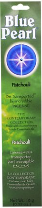 The Contemporary Collection, Patchouli Incense, 0.35 oz (10 g) by Blue Pearl, 洗澡,美容,香薰精油,香 HK 香港