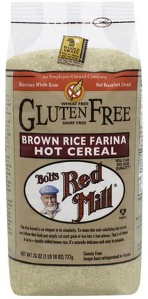 Creamy Rice, Brown Rice Farina, Hot Cereal, 26 oz (737 g) by Bobs Red Mill, 食物,食物,穀物,熱穀物 HK 香港