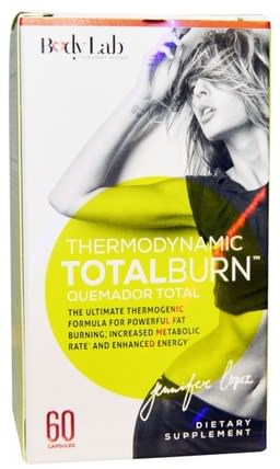 Thermodynamic Total Burn, 60 Capsules by BodyLab, 健康,女性,減肥,飲食,脂肪燃燒器 HK 香港